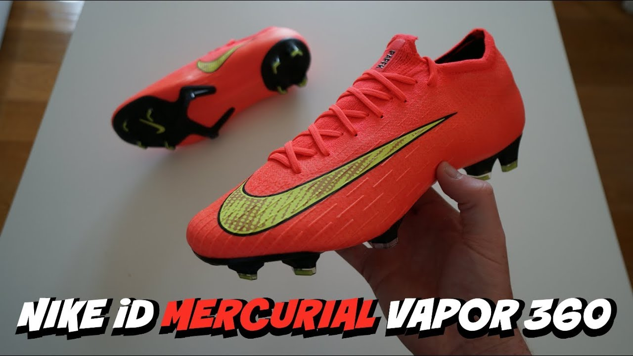 cfebc8e87199 NIKE iD HERITAGE PACK WORLD CUP BOOTS! | Unboxing Nike Mercurial Vapor 360  from 2014!