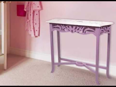 Peinture meuble pour enfants effet princesse de lib ron youtube - Peinture liberon pour meuble ...