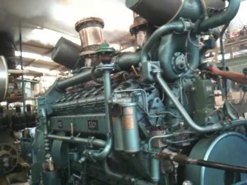 moteur V16 MGO SACM