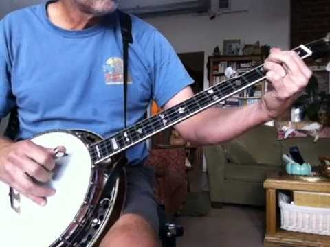 Linus and Lucy banjo lesson