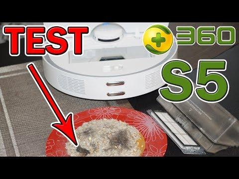 TES S5 360 PEMBERSIH VAKUM ROBOT DENGAN PETA DAN ZONA CLEANING
