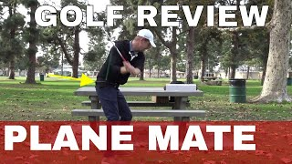 Tour Striker Plane Mate Review AND the motor learning Science of Training aids for golf