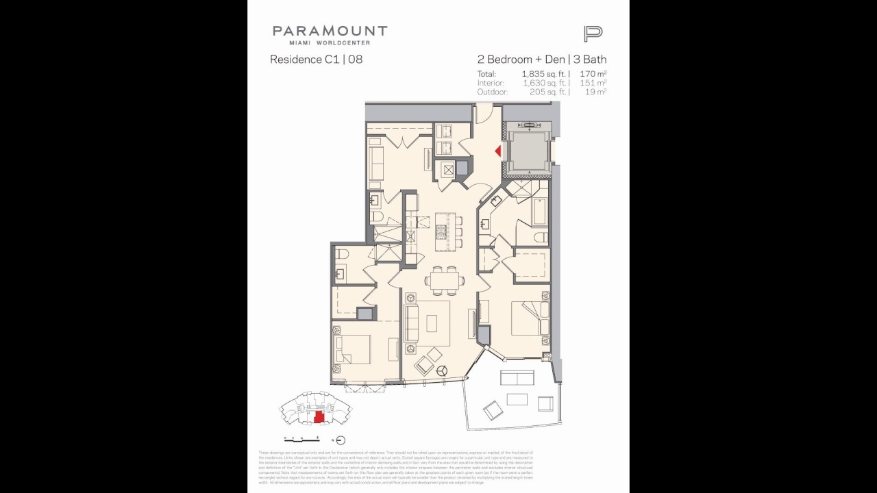 Paramount World Center Floor Plans Youtube