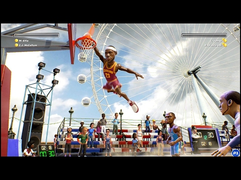 NBA Playgrounds Youtube Video