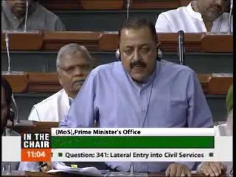 Dr. Jitendra Singh's reply to Shashi Tharoor in Lok sabha