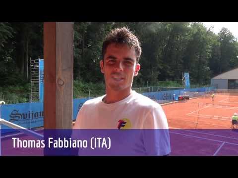 US OPEN 2016 - Thomas Fabbiano - (Italy) VS  Alejandro González (Colombia)