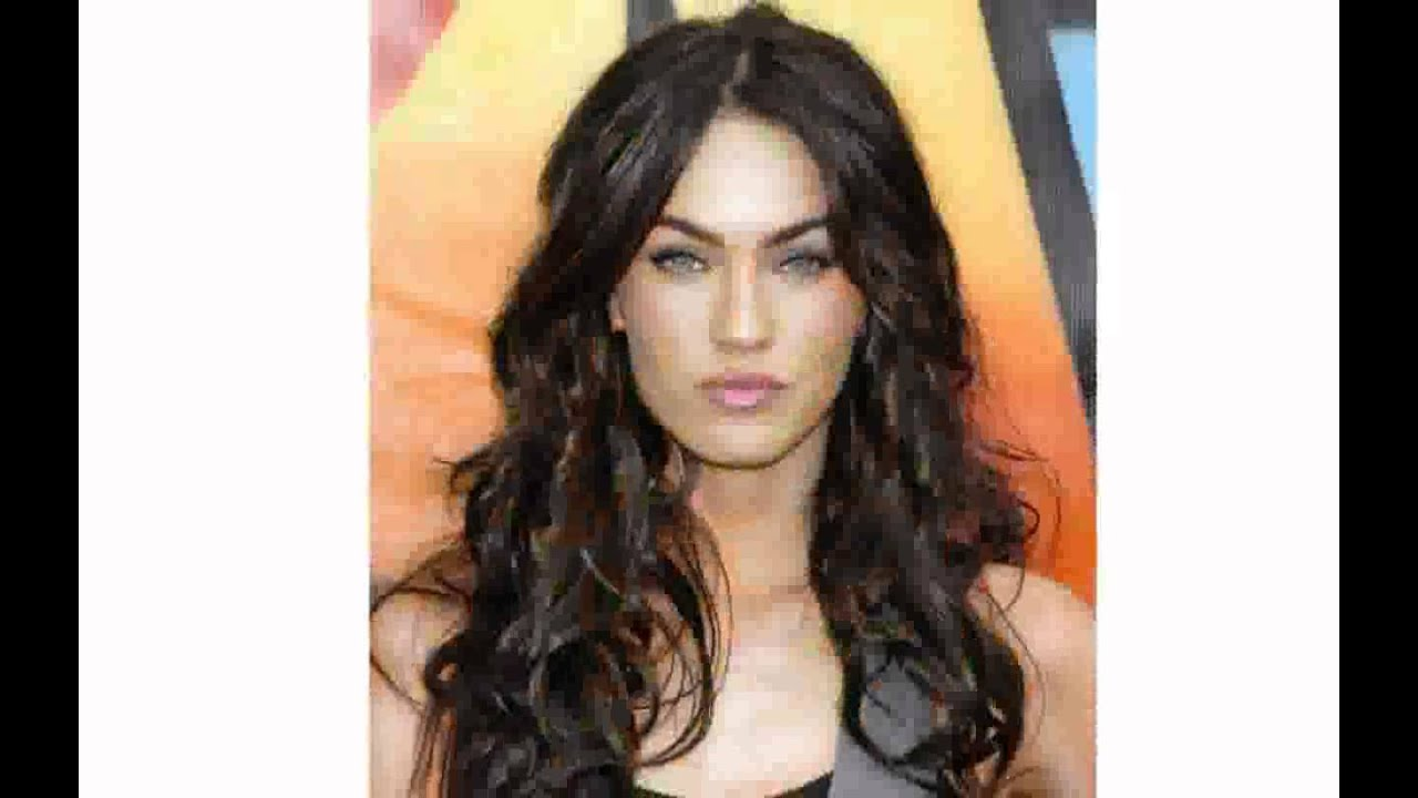 hairstyles for dark long hair - youtube