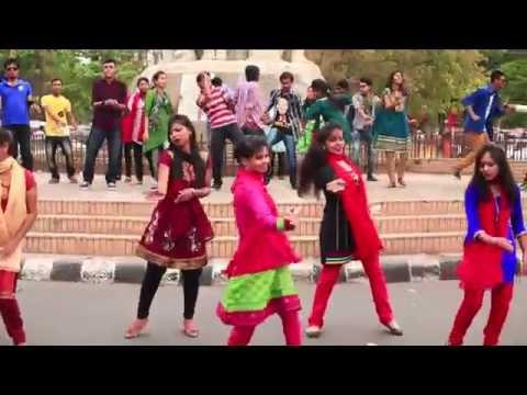 ICC T20 World Cup Bangladesh 2014 theme Song-Musical Flash Mob:INFS(DU)