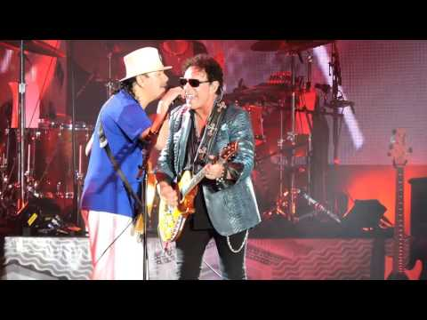 Santana & Journey's Neal Schon Batuka / No One To Depend On Live at LA Forum 2016