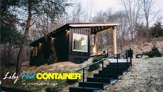 Lily Pad Cozy Container Tiny Home In Logan, Ohio, Usa