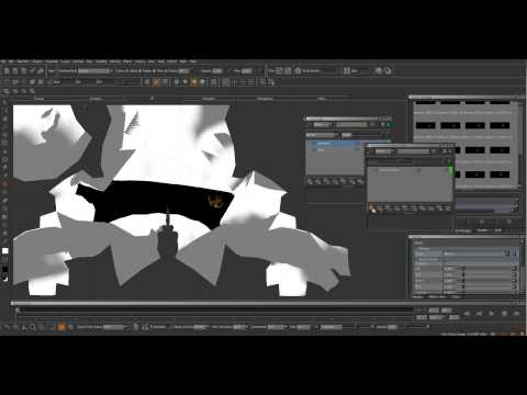 Quick Tutorial - Creating turntables and Animated Textures in Mari