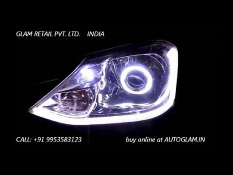 Ag702 Toyota Liva Audi Style Projector Headlight By Autoglam In Car
