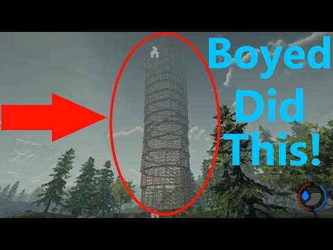 The Forest: Second Amazing Skyscraper Tour! (Epic Base)