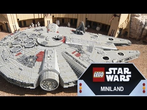 LEGO STAR WARS MINILAND At LEGOLAND California! Full Overview In 1080p HD