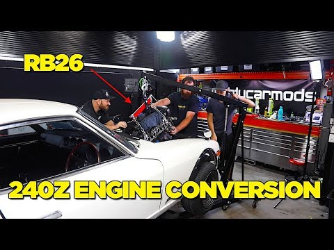 240Z - RB26 Engine Conversion [PART 2]