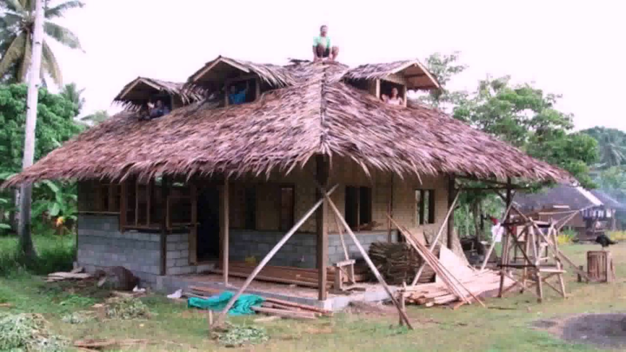 Half concrete house design philippines