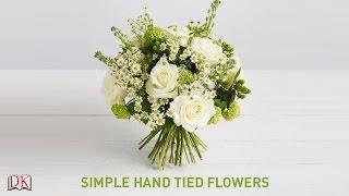 Flower Arrangement Tutorial: Simple Hand Tied Flowers