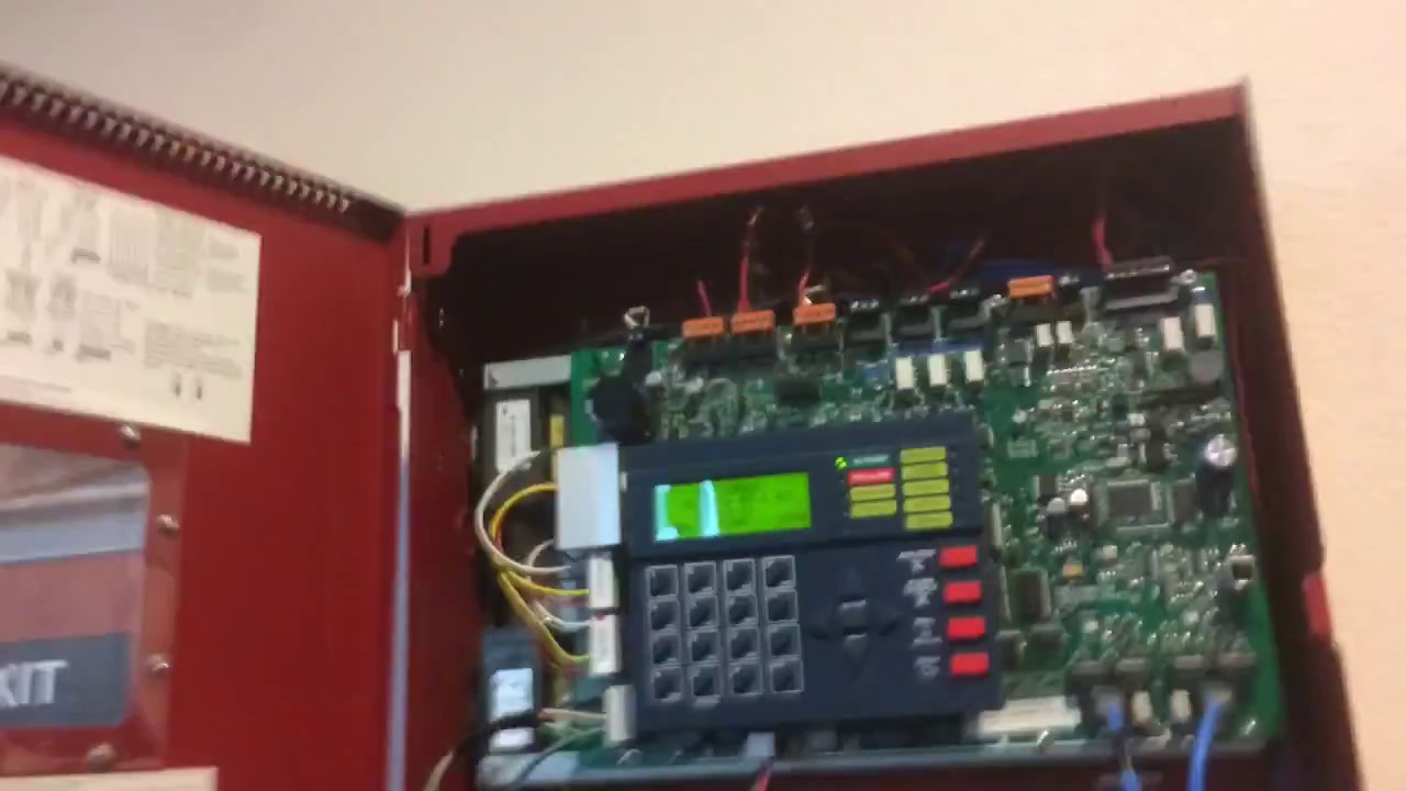 Firelite ms-9200UDLS inspection HD