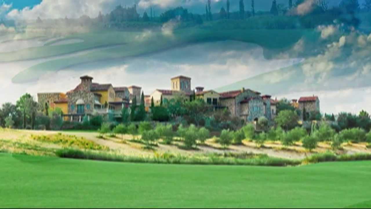 Bella Collina Golf Club In Montverde Florida In The Orlando Area Youtube