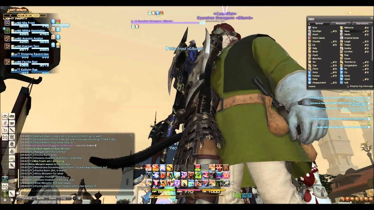 Stormblood - Giant Bomb Free Company Thread - Final Fantasy