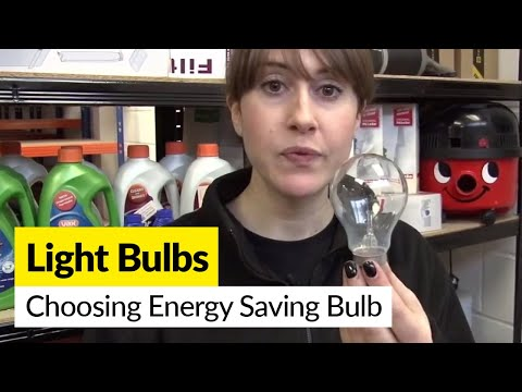 How to choose the right energy saving light bulb