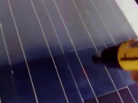 sealing solar cells with EVA