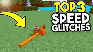 Top 3 SPEED GLITCHES! | Build A Boat For Treasure ROBLOX