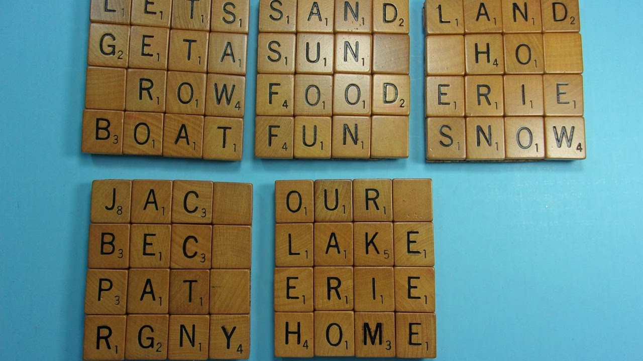 3 letter scrabble words scrabble letter coasters words with friends gift 20071 | maxresdefault