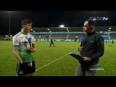Lucan Sarsfields' Paul Crummey chats to DubsTV after Go Ahead Championship Quarter Final win
