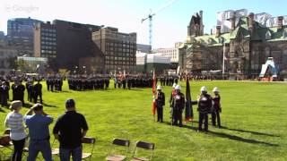 Canadian Police & Peace Officers Memorial 2013