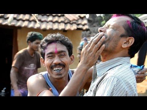 TRIBAL INDIA - Village Life in Orissa & HOLI Festival of Colours