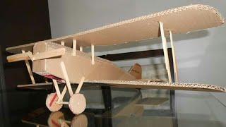 Faça você mesmo um aeromodelo de papelão SE5a