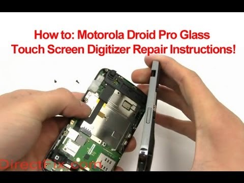 How to Replace Motorola Droid Pro Digitizer