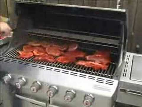 2007 Weber Summit Gas Grill Cooking Video Youtube