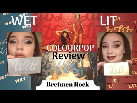 Wet & Lit Bretman Rock x Colourpop Review thumbnail