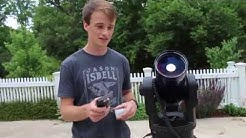 How to set up and align Meade ETX Telescope (RA and EC)