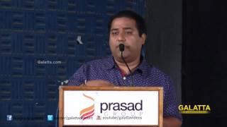 C. V. Kumar at Enakkul Oruvan  Press Meet