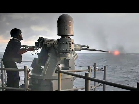 M242 Bushmaster Chain Gun Live Fire And Training