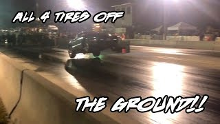 THIS NITROUS FIREBIRD LITERALLY FLEW OFF THE LINE!! ALL 4 TIRES OFF THE GROUND WHEN HE LAUNCHED
