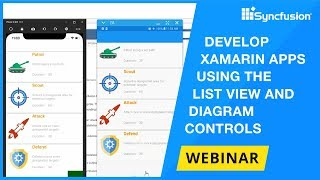 Develop Xamarin Apps Using the List View and Diagram Controls