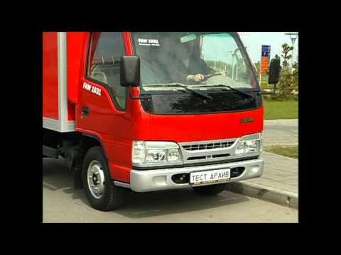 видео: тест-драйв грузовик faw