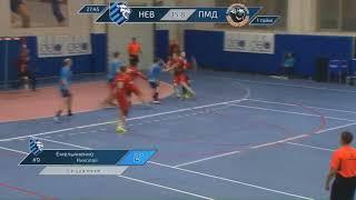 Artem Iunin. Handball. Permskie Medvedi(Rus)  - Neva(Rus)