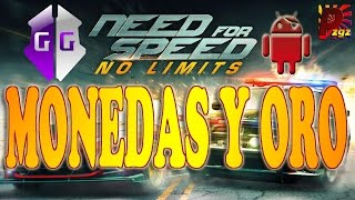 MONEDAS Y ORO INFINITO NEED FOR SPEED NO LIMITS ANDROID ROOT