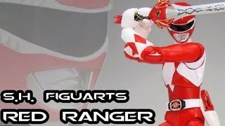 s.h. figuarts armored red ranger unboxing