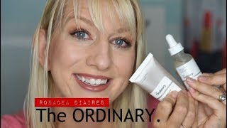 The Ordinary | Rosacea Update | Moisturizing Factors and Hyaluronic Acid Review! | Rosacea Diaries