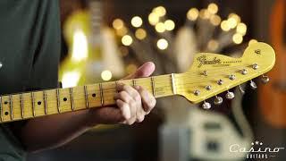 Fender Custom Shop Jimi Hendrix Voodoo Child Stratocaster-Olympic White, Journeyman Relic