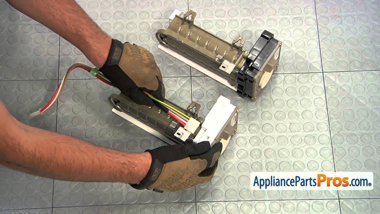 refrigerator icemaker for maytag amana jenn air whirlpool d7824706q. refrigerator icemaker (part #d7824706q) - how to replace for maytag amana jenn air whirlpool d7824706q p