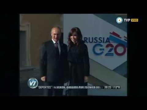 Visión 7 - Putin en la Argentina: El presidente ruso llega el sábado