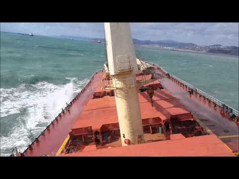 M/V M Emir Aksoy   Swell Condition at BlackSea