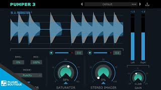 2 Free VST Plugins | Pumper 3 Compressor by WA Production Tutorial Review of Key Features